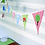 Thumbnail: Tractor themed Child's  Bedroom Bunting