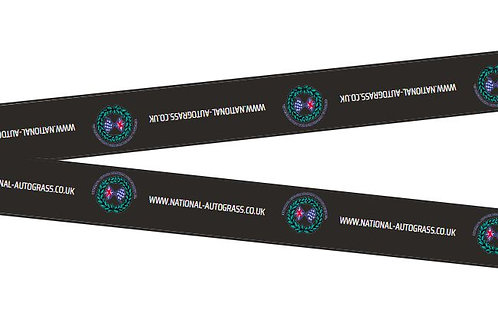 National Autograss Lanyard
