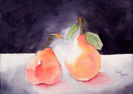 Pair of Pears     (Sold)