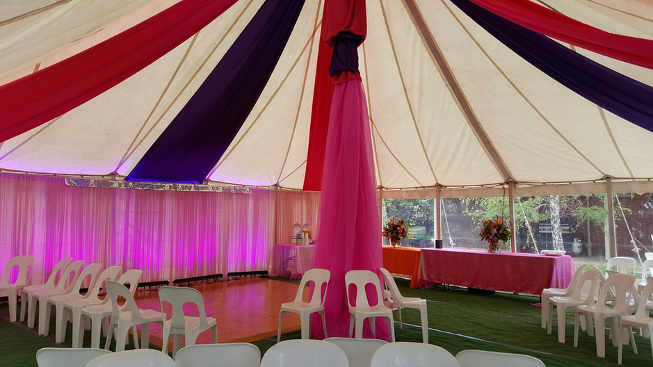 Drapes (various styles & colours available)