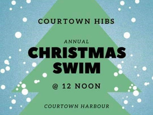 Christmas Day Swim!!!
