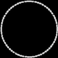 Dashed Line Circle