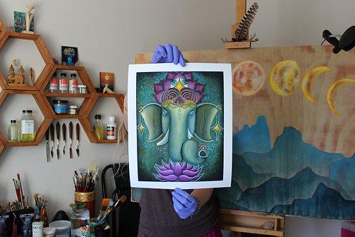 Ganesha archival prints