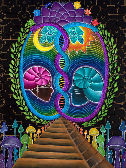 Evolution of Consciousness original painting