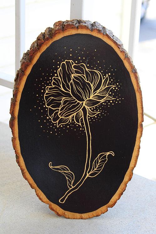 Radiant Rose original painting