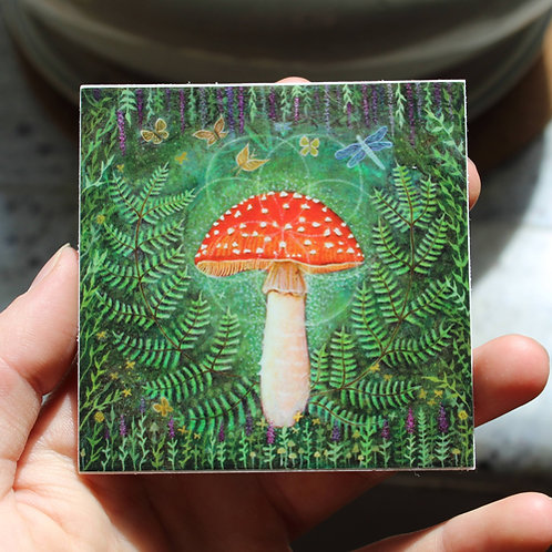 Enchanted Amanita stickers
