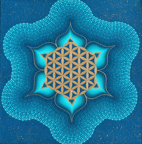 Aquarius Flower of Life