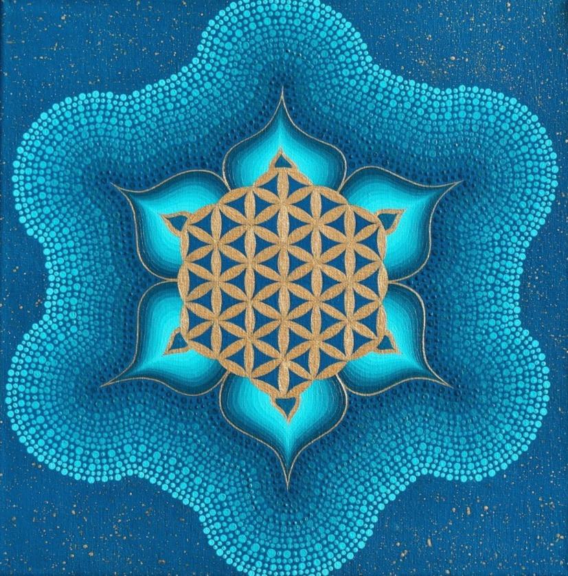 Aquarius Flower of Life