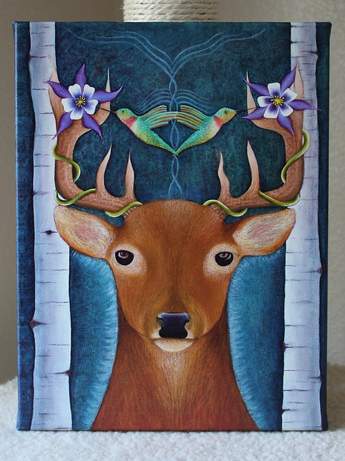Spirit of the Stag canvas prints