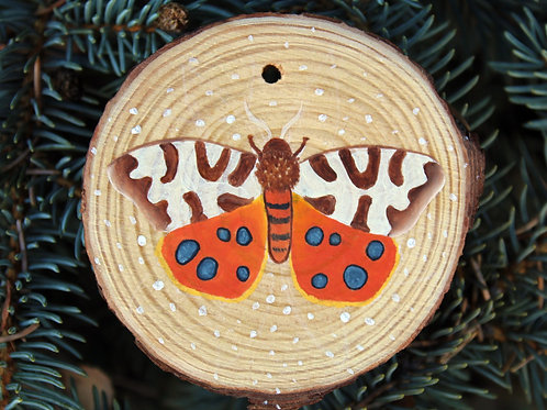 Garden Tiger Moth original painting