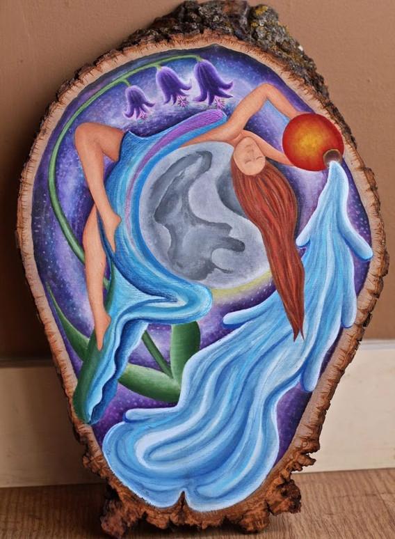 Aquarian Moon Goddess
