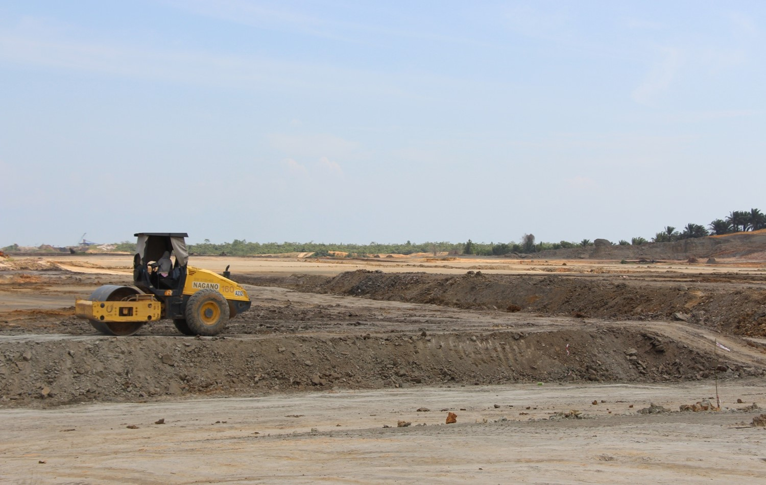 Earthwork at Samalaju Integrated Phosphate Complex