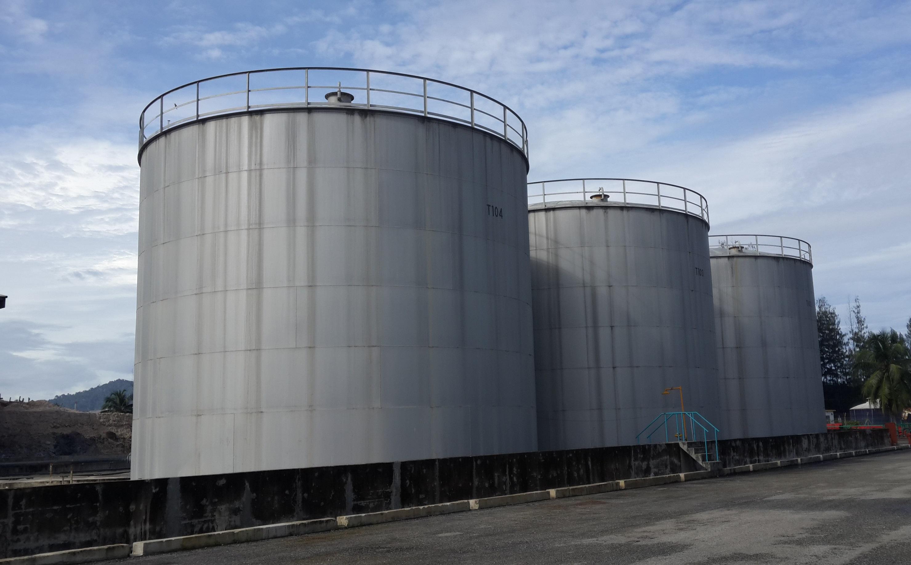 Lumut Plant Tank Farm