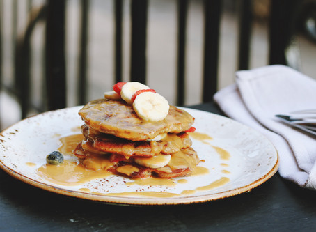 My macro-friendly, dairy-free protein pancake recipe