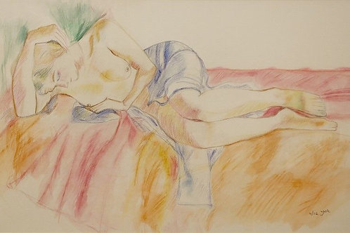 People Painting - A Woman at Rest