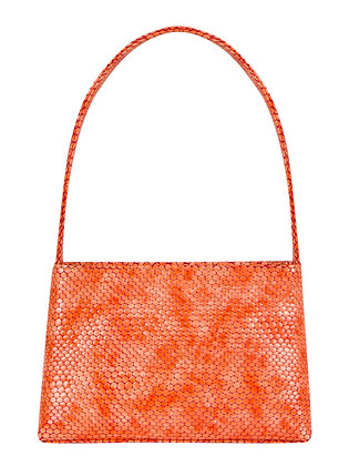NIKA Coral Snake Embossed Leather
