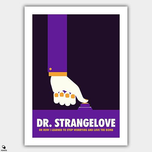 Dr. Strangelove Minimalist Poster