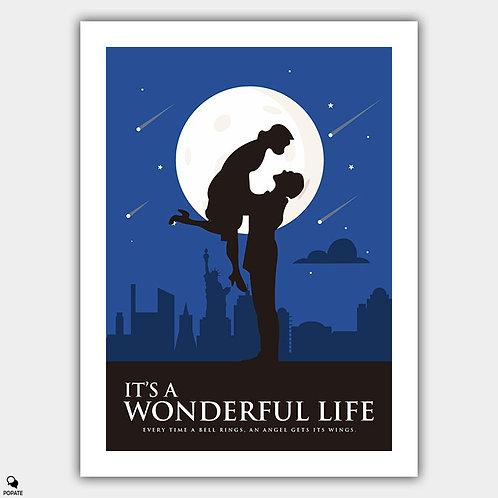 It's A Wonderful Life Minimalist Poster