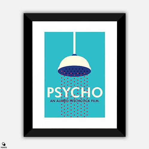 Psycho Minimalist Framed Print