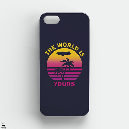 The World is Yours Alternative iPhone Case from Scarface