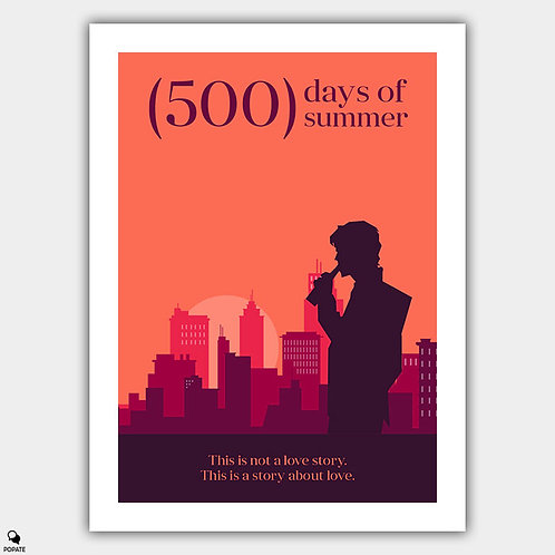 500 Days of Summer Minimalist Poster - Reality