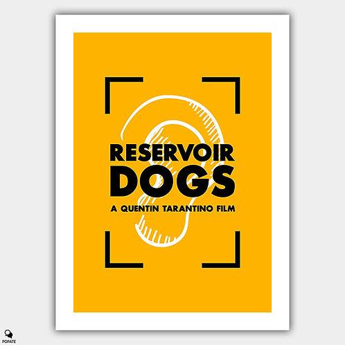 Reservoir Dogs Vintage Poster - Mr Blonde