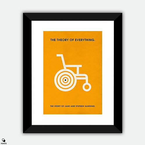 The Theory of Everything Minimalist Framed Print