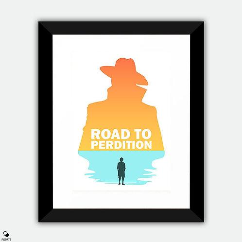 Road to Perdition Minimalist Framed Print