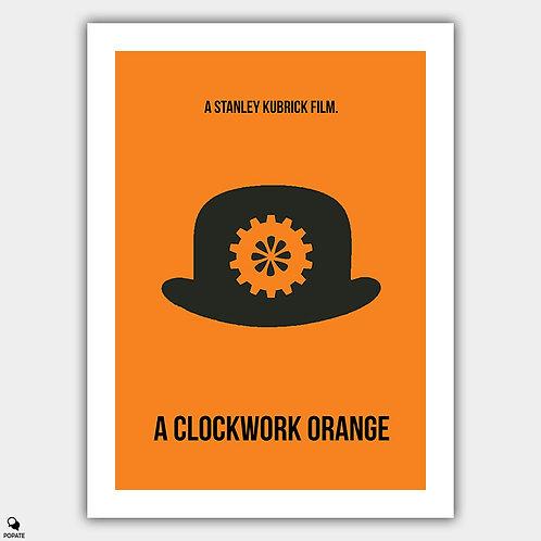 A Clockwork Orange Minimalist Poster
