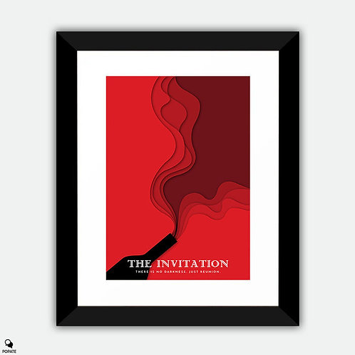 The Invitation Minimalist Framed Print