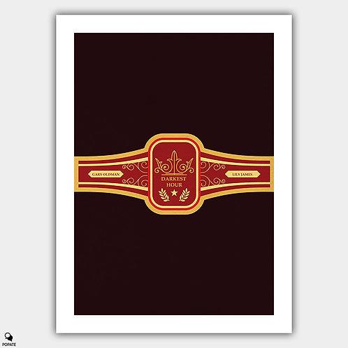 Darkest Hour Minimalist Poster - Cigar