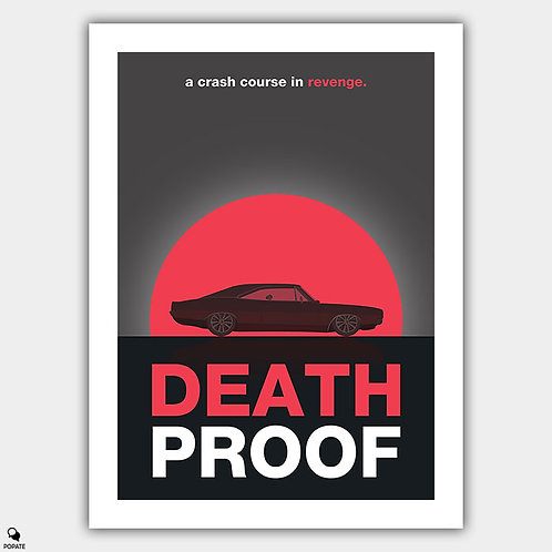 Death Proof Minimalist Poster #2