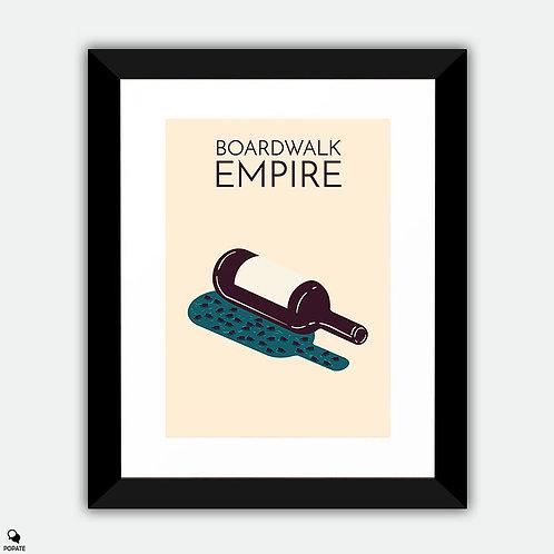 Boardwalk Empire Minimalist Framed Print