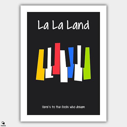 La La Land Alternative Poster - Invitation