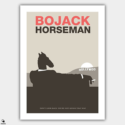 BoJack Horseman Alternative Minimalist Poster #3