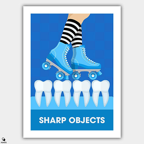 Sharp Objects Alternative Poster - Ivory Floor