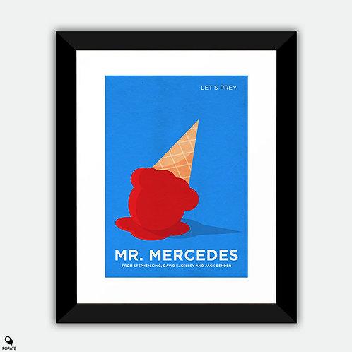 Mr. Mercedes Alternative Minimalist Framed Print