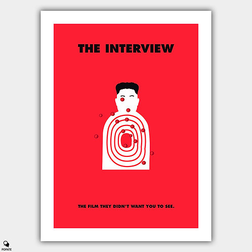 The Interview Alternative Poster