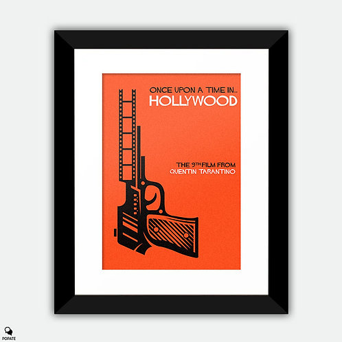 Once Upon A Time In Hollywood Alternative Framed Print