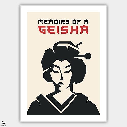 Memoirs of a Geisha Minimalist Poster