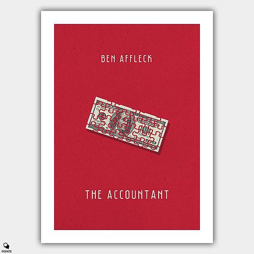 The Accountant Alternative Minimalist Poster
