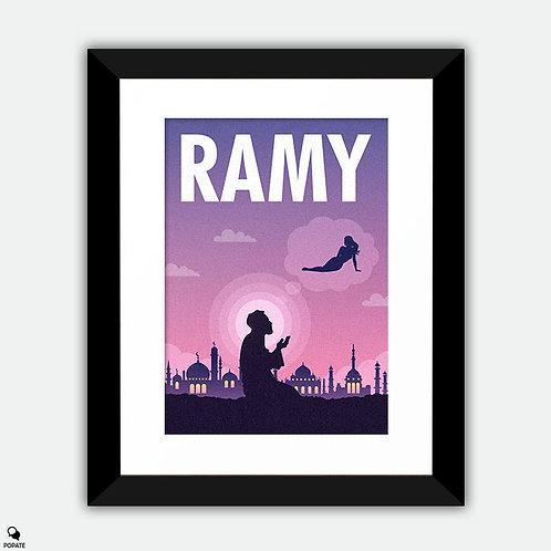 Ramy Minimalist Framed Print