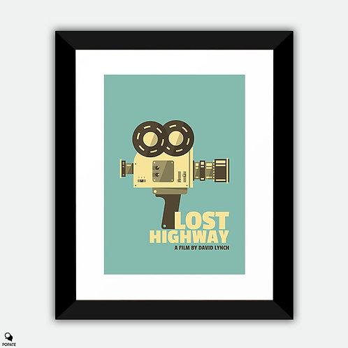 Lost Highway Alternative Vintage Framed Print