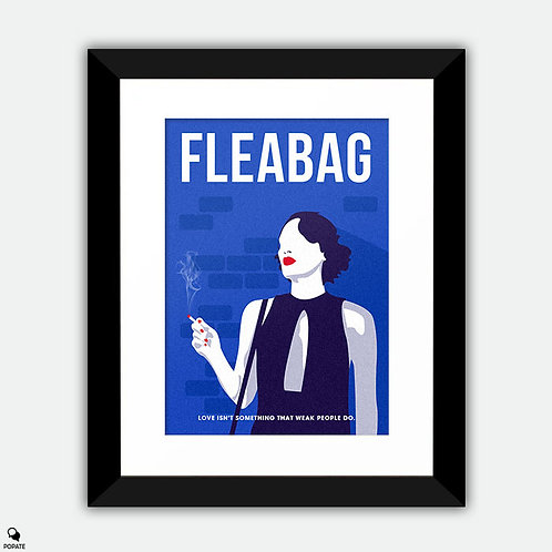 Fleabag Minimalist Framed Print - Incredulous