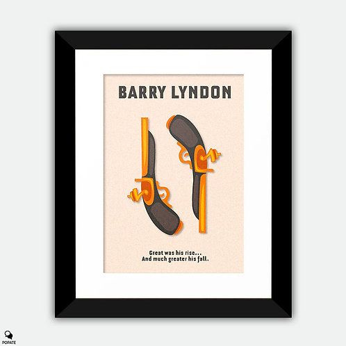 Barry Lyndon Minimalist Framed Print