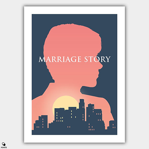 Marriage Story Alternative Poster - Nicole