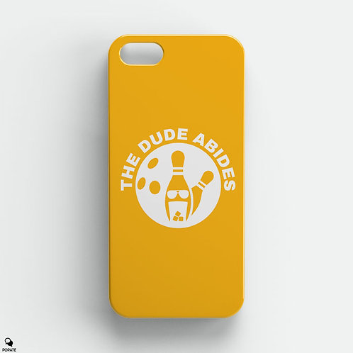 The Dude Abides Minimalist iPhone Case from The Big Lebowski