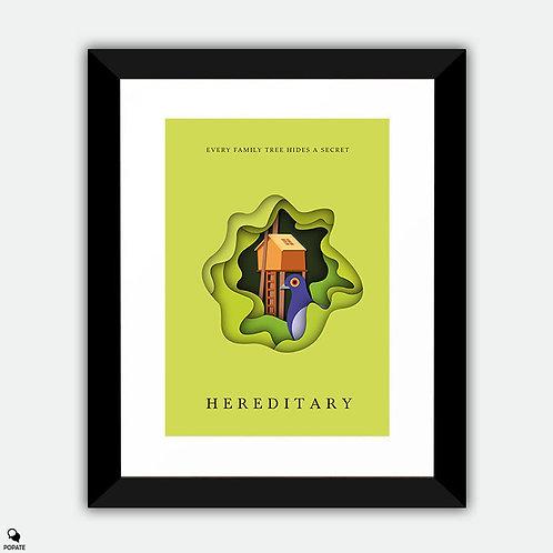 Hereditary Minimalist Framed Print
