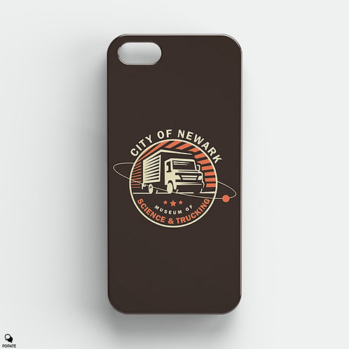 City of Newark Museum of Science and Trucking iPhone Case from The Sopranos