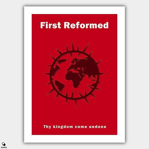 First Reformed Minimalist Poster